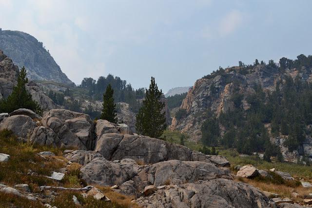 boulder outcrops