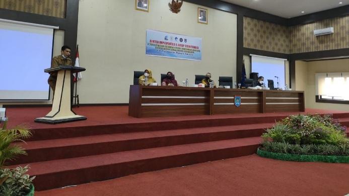 Pemko Payakumbuh bersama ANRI sosialisasikan aplikasi Sistem Informasi Kearsipan Dinamis Terintegrasi