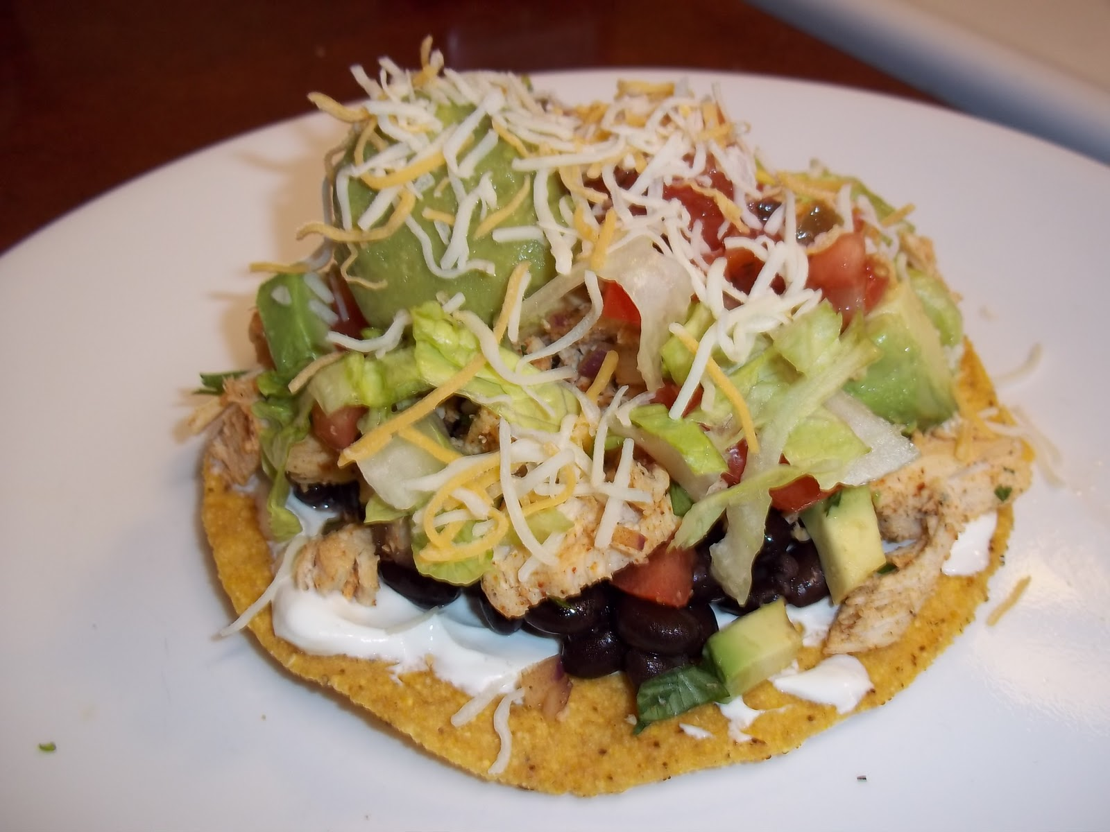 The Daily Smash: Chicken and Black Bean Tostadas