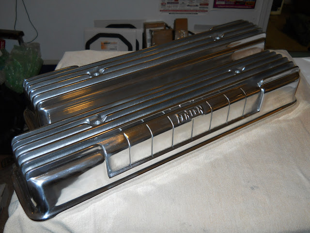 # FVC Beautiful Fenton Repro valve covers, first time available since the 50's 295.00 .. Must use valley cover with filler tube.
