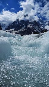 Torrent moulins Mer de glace, Chamonix