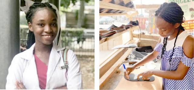Meet UI Female Medical Student Who Would Rather Quit Medicine Than Abandon Shoe-Making