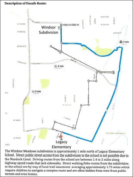 2016-06-07 Windsor Unsafe Route