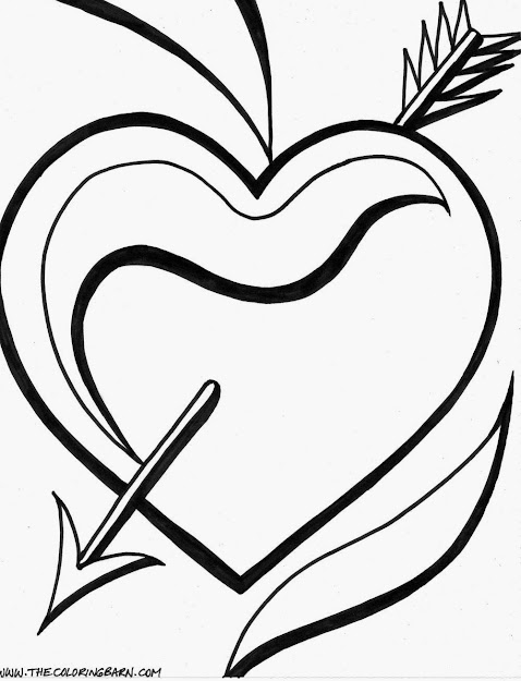 Colouring Pages Rose  Coloring Pages Of Hearts Printable Coloring Pages  Hearts  Valentine Printable Coloring
