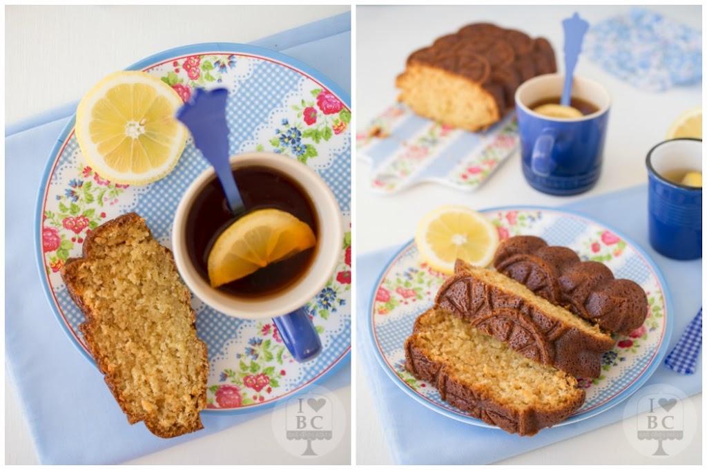 Loaf Cake de té al limón
