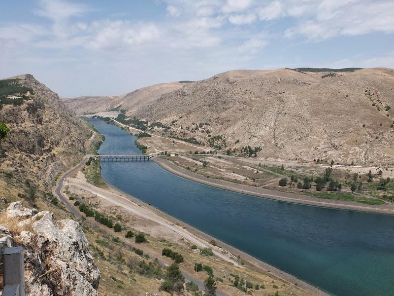 Presa d'Attaturk al riu Èufrates