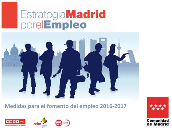 Estrategia Madrid por el Empleo 2016-2017