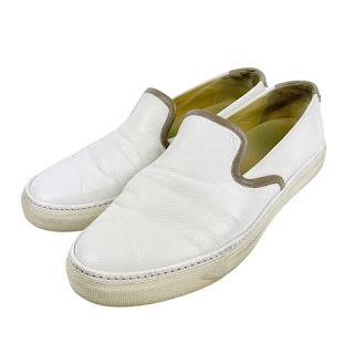 Hermès Leather Slip Ons