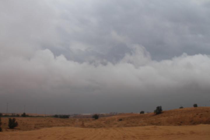أمطار عنيزة الثلاثاء 1434 خمسون