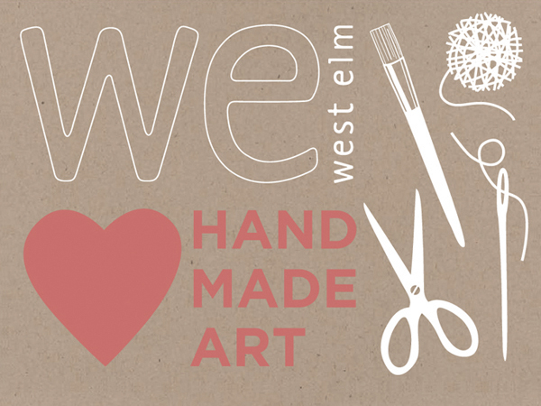 WE heart handmade art