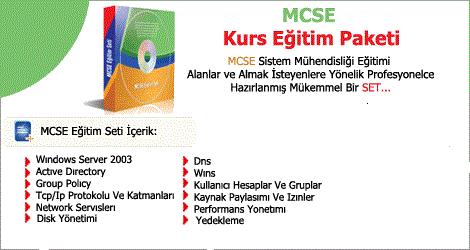 MCSE Eğitim Seti Türkçe Full İndir (8 CD)