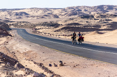 The start of three days in the desert.