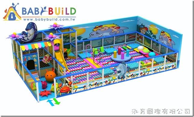 BabyBuild 3D泡管主題遊具