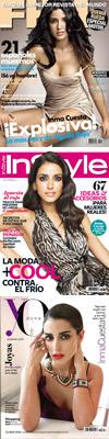 Inma Cuesta en portadas de revistas