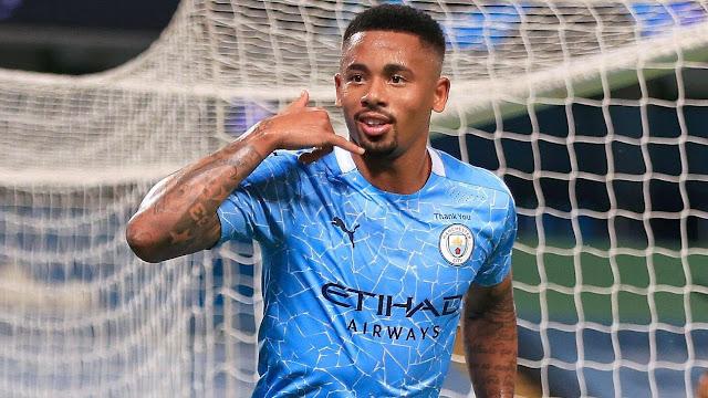 Manchester City player Gabriel Jesus