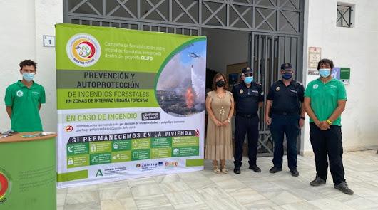 El Proyecto CLIFO llega a Mojácar para concienciar contra incendios forestales