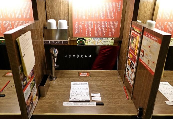 10 日本九州 一蘭拉麵 天神西店 方碗拉麵