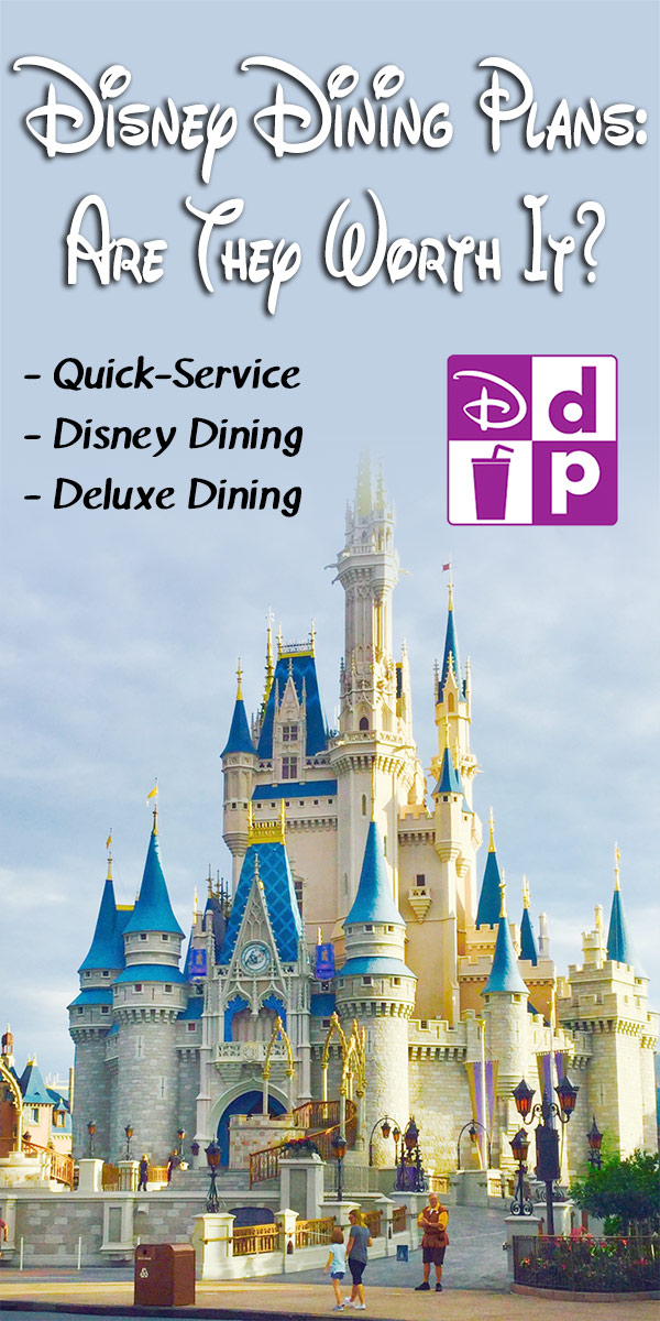 Disney dining plans : are they worth it. A look at the three current disney dining plans, what they cost and what you have to do to make them worthwhile