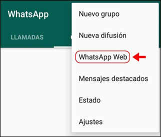Abir mi cuenta WhatsApp Web - 722