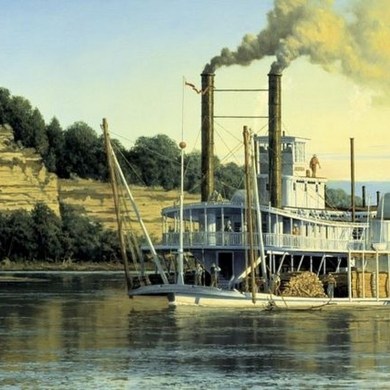The Sinking of Steamboat Arabia And its Discovery in a Cornfield