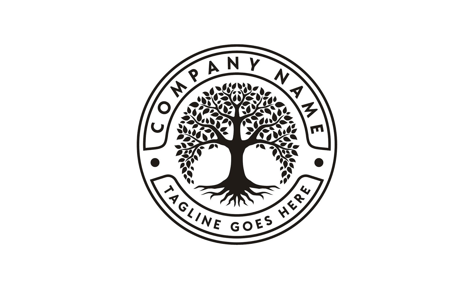 Tree Life Logo Design Inspiration Free Download Vector CDR, AI, EPS and PNG Formats