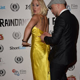 OIC - ENTSIMAGES.COM - Kat Gellin and Nathanael Wiseman at the  My Hero Film Premiere at Raindance Film Festival London 25th September 2015 Photo Mobis Photos/OIC 0203 174 1069