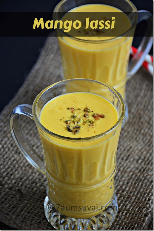 Mango lassi / Sweet lassi