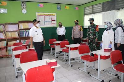 Kota Bekasi Tetapkan Empat sekolah menjadi role mode pembelajaran tatap muka