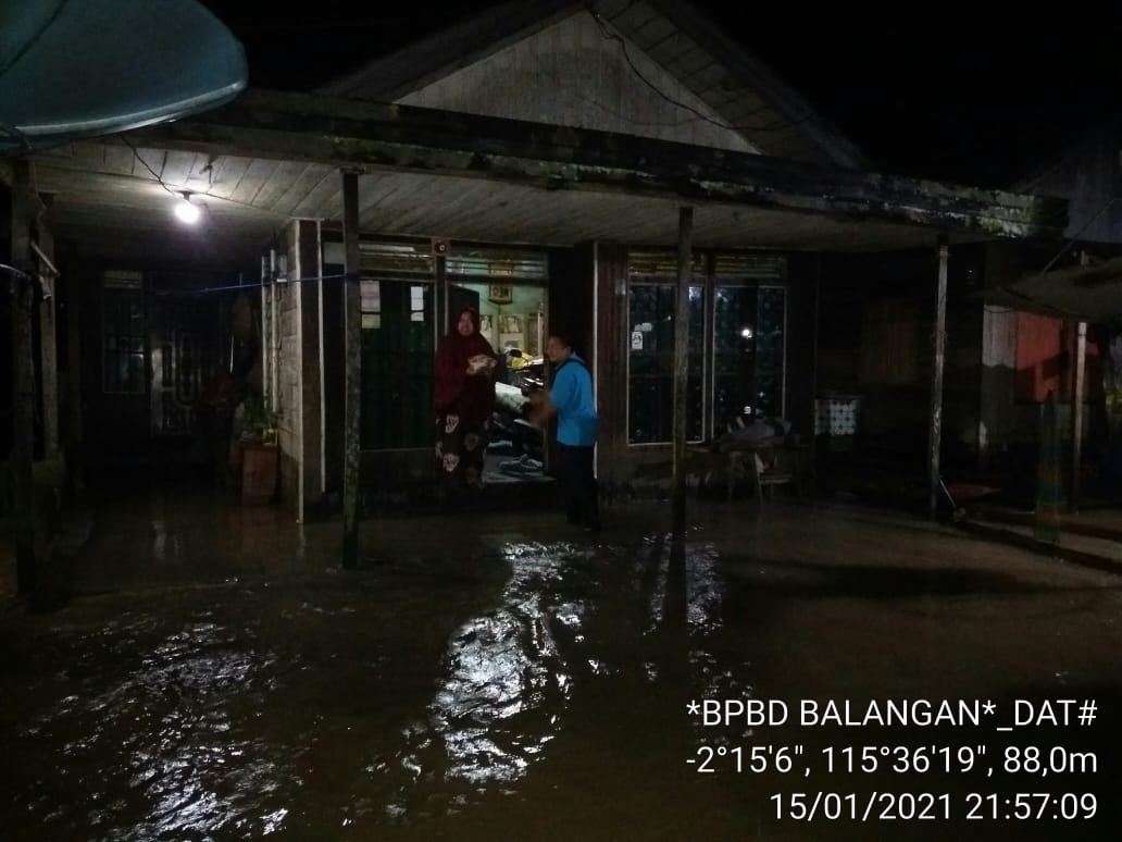 Lebih dari 3000 Rumah Terendam Banjir di Kabupaten Balangan