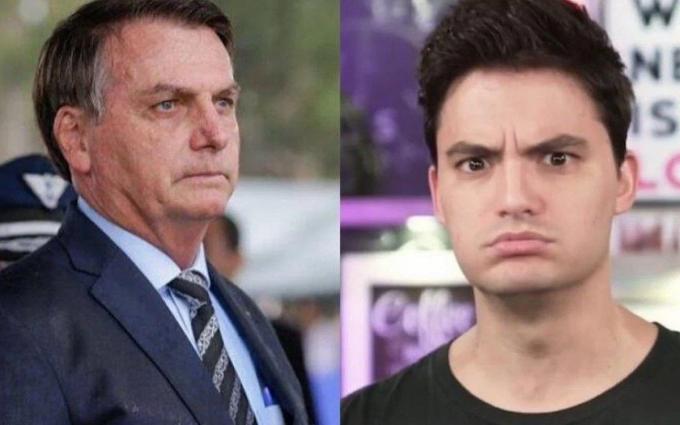 Felipe Neto 1 x 0 Bolsonaro