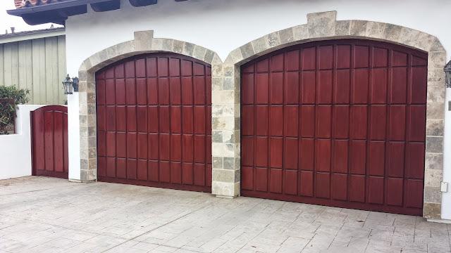 Garage Door Refinishing Sikkens Cetol  La Jolla 92037 Peek Brothers Painting
