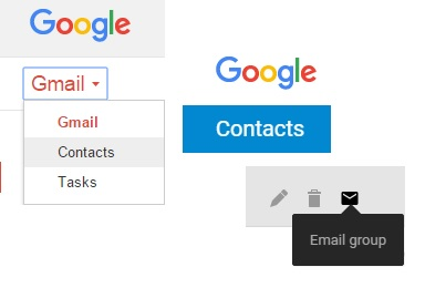 how to add group to bcc gmail