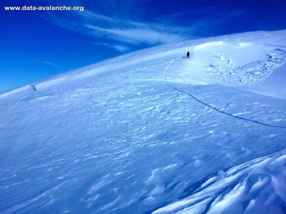 Avalanche Aravis, secteur Pointe Percée, Sous le refuge de Gramusset - Combe des Verts - Photo 1