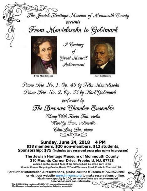 From Mendelssohn to Goldmark