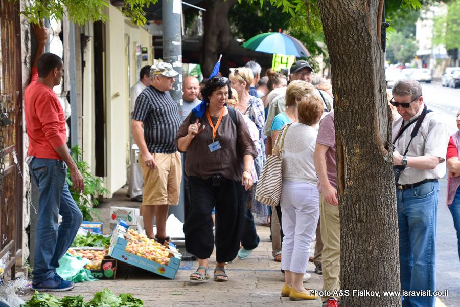 Экскурсия по улицам Назарета. Гид в Израиле Светлана Фиалкова.