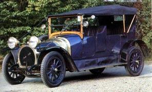 Amédée Bollée fils 1907 Type E