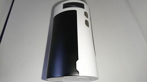 DSC 2232 thumb%25255B2%25255D - 【MOD+アトマ】「Sense Blazer 200キット」レビュー。最大200W対応BOX MODとセラミック搭載クリアロのスターターキット!【電子タバコ/爆煙】