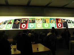 Apple store in NYC.