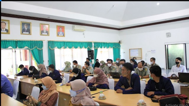 Mahasiswa Uniska Magang Praktik Kerja di BBPP Binuang