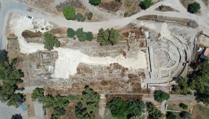 Υπέροχη Βασιλική 2.000 ετών αποκαλύφθηκε στην Ασκάλωνα των Φιλισταίων