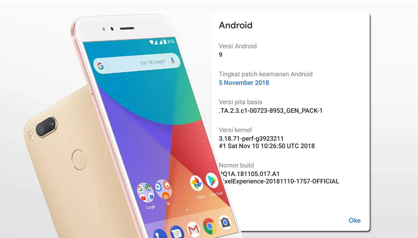 Fitur tersembunyi Xiaomi Mi A1 setelah update OTA terbaru