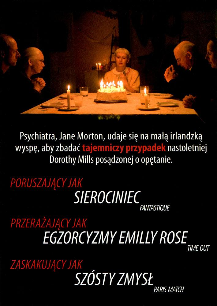 Ulotka filmu 'Egzorcyzmy Dorothy Mills (tył)'