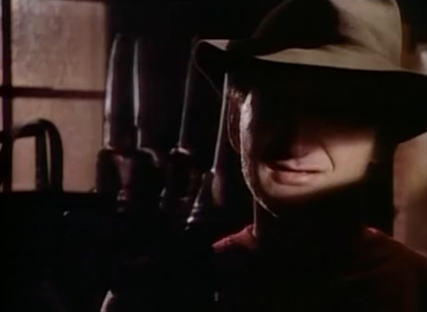 in the pilot episode of Freddy's Nightmares, directed by Tobe Hooper, we see Fred Krueger with his new glove before the Elm St. parents have their fiery revenge.