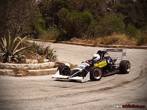 Modern F1 replica single seater racer