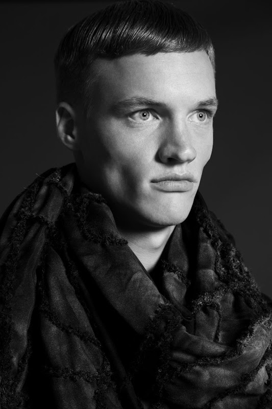 Benno Bas @ Republic by Marco van Rijt for Jan Boelo S/S 2012