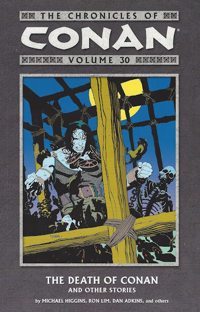 Chronicles of Conan, v. 30: The Death of Conan and Other Stories cover