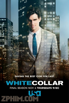 Cổ Cồn Trắng 6 - White Collar Season 6 (2014) Poster