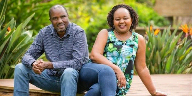 Governor Anne Waiguru together with her husband Kamotho Waiganjo