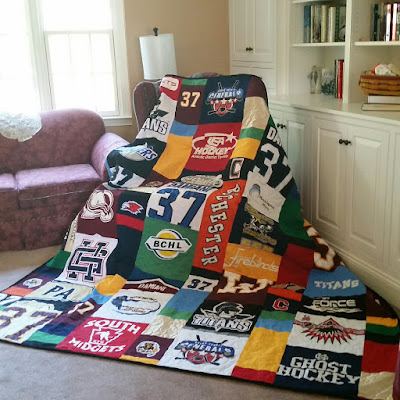 Quilts For Everyone - Memory Quilts by Molly : quilts made from sports jerseys - Adamdwight.com