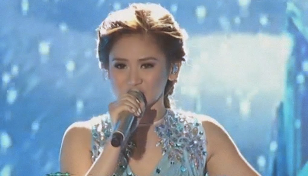 Sarah Geronimo Frozen's Let It Go